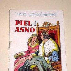 Libros de segunda mano: EUGENIO VICENTE. PIEL DE ASNO. CUENTOS ILUSTRADOS PARA NIÑOS. RAMÓN SOPENA. AÑOS 40.+++. Lote 26427570