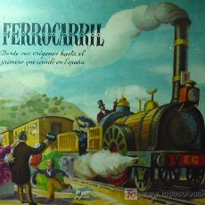 Libros de segunda mano: CUENTO, EL FERROCARRIL, EDICIONES GENERALES SIBILS, BARCELONA, 1940S, DESDE ORIGEN AL 1º DE ESPAÑA. Lote 16751079