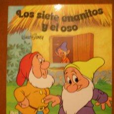 Libros de segunda mano: CUENTO WALT DISNEY.- LOS SIETE ENANITOS Y EL OSO.-. Lote 26009845