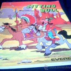 Libros de segunda mano: SITTING BULL. WALT DISNEY. EDITORIAL EVEREST, 1986. COLECCION LA MAQUINA DEL TIEMPO. GOOFY.. Lote 6292957
