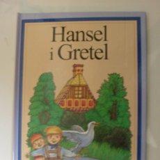Libros de segunda mano: CUENTO HANSEL Y GRETEL EN CATALÀN. Lote 27408834