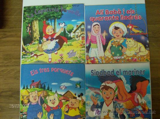 4 CUENTOS CLASICOS EN CATALÁN (Libros de Segunda Mano - Literatura Infantil y Juvenil - Cuentos)