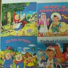 Libros de segunda mano: 4 CUENTOS CLASICOS EN CATALÁN. Lote 25517470