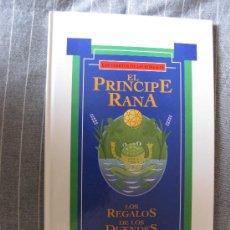 Libros de segunda mano: LOS CUENTOS DE LAS ESTRELLAS. EL PRINCIPE RANA-LOS REGALOS DE LOS DUENDES. ED. GLOBUS 1993.2 CUENTOS. Lote 21422625