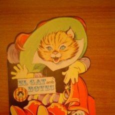 Gebrauchte Bücher - CUENTO TROQUELADO EL GAT AMB BOTES EDICIONES TORAY Nº 4 ILUSTRACIONES MARIA PASCUAL - 18586042