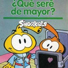 Libros de segunda mano: MINI CUENTOS SNORKELS Nº 4 - ¿QUE SERE DE MAYOR? - PARRAMON. Lote 18593215
