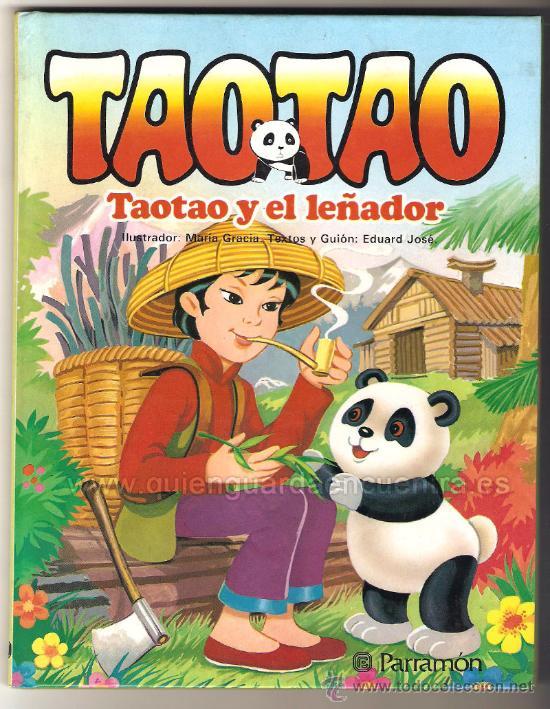 TAOTAO CUENTO DE PARRAMÓN Nº 1, TEXTO MARÍA GRACIA, ILUSTRACIONES EDUARD JOSÉ, NUEVO 1985 (Libros de Segunda Mano - Literatura Infantil y Juvenil - Cuentos)