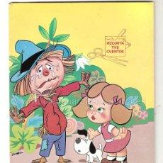 Libros de segunda mano: CUENTO PARA PINTAR Y RECORTAR. EL MAGO DE OZ. MUNDESA 1986. NUEVO. Lote 18667358