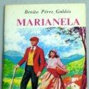 Libros de segunda mano: MARIANELA BENITO PÉREZ GALDÓS MINIBIBLIOTECA LITERATURA UNIVERSAL ED EDELVIVES 1982 MINI LIBRO. Lote 36029801
