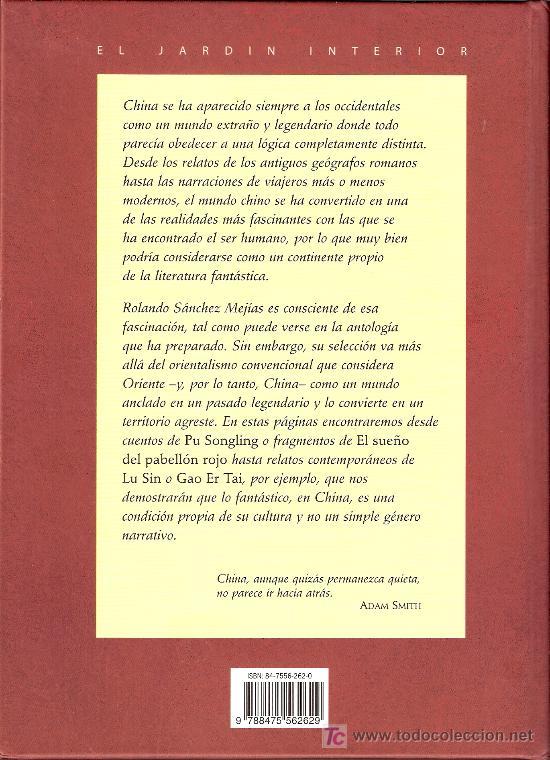 Libros de segunda mano: Antología del CUENTO CHINO Maravilloso. Rolando Sanchez - Mejías. Ed.Oceano 2002 - Foto 2 - 26323573
