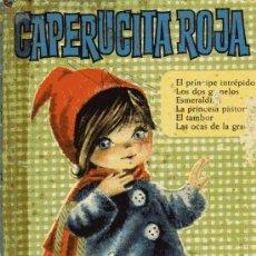 Libros de segunda mano: CAPERUCITA ROJA - CON 160 ILUSTRACIONES - ED. BRUGUERA - AÑO 1966. Lote 25757476