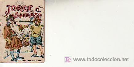 CALLEJA .SERIE IX TOMO Nº163.JORGE EL VALEROSO. VEA MAS CUENTOS EN RASTRILLOPORTOBELLO (Libros de Segunda Mano - Literatura Infantil y Juvenil - Cuentos)