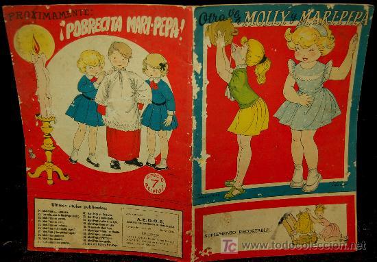 CUENTO - OTRA VEZ MOLLY Y MARI PEPA (Libros de Segunda Mano - Literatura Infantil y Juvenil - Cuentos)