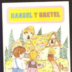 Libros de segunda mano: CUENTO * HANSEL Y GRETEL *. Lote 19697753