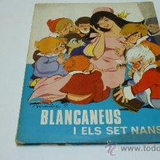 Libros de segunda mano: BLANCANEUS I ELS 7 NANS. CONTES TORAY. 1967. ILUSTRA: MARIA PASCUAL. Lote 19702900