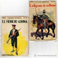 Libros de segunda mano: DOS ANTIGUOS CUENTOS EPISODIOS HISTORICOS. SERIE IV. R. SOPENA EDITOR. AÑOS 20 APROX.. Lote 19826895