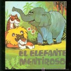 Libros de segunda mano: EL ELEFANTE MENTIROSO. COLECCION COMETA ROJA. Nº 41. EDITORIAL EVEREST.. Lote 19956387