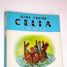 Libros de segunda mano: CELIA Y SU MUNDO Nº 5. CELIA Y SUS AMIGOS. ELENA FORTÚN, ILUSTRA L. DE BEN. AGUILAR 1980. Lote 26233419