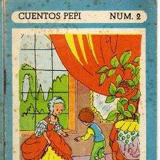 Libros de segunda mano: UN RARO SUCESO EN VILLARREAL. CUENTOS PEPI. Nº 2. ED. ROMA. BARCELONA. AÑOS 50. ILUST: NIETO. Lote 20182774