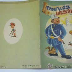 Libros de segunda mano: TRAVESURAS INFANTILES. COL. ALEGRE INFANCIA. ED. CANTÁBRICA. BILBAO. AÑO 1958. Nº 2. Lote 20561022