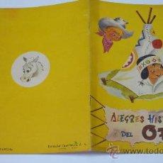 Libros de segunda mano: ALEGRES HISTORIETAS DEL OESTE. COL. ALEGRE INFANCIA. Nº 11. ED. CANTÁBRICA. 1958. Lote 20568969