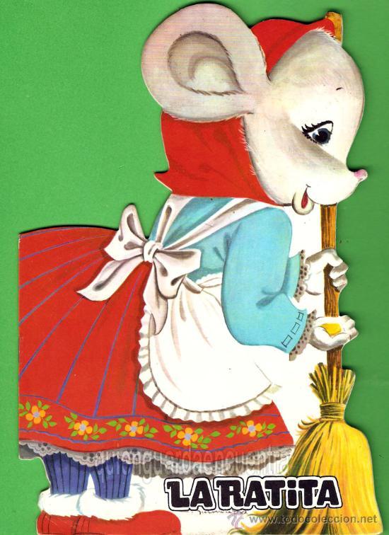 CUENTO GRANDE TROQUELADO. LA RATITA PRESUMIDA. DIBUJOS DE C. GARMENDIA, NUEVO. (Libros de Segunda Mano - Literatura Infantil y Juvenil - Cuentos)
