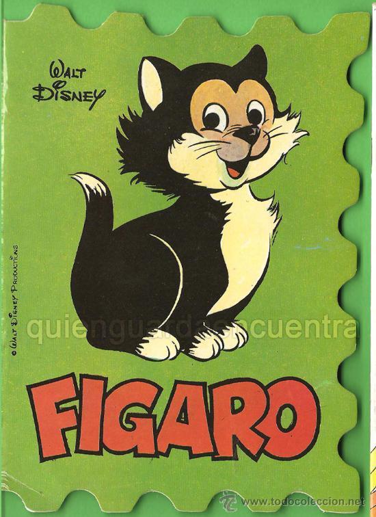 CUENTO TROQUELADO DE DISNEY Y BRUGUERA 1981, FÍGARO, BONGO Y BAMBY LOTE DE TRES CUENTOS NUEVOS (Libros de Segunda Mano - Literatura Infantil y Juvenil - Cuentos)