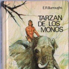 Libros de segunda mano: TARZAN DE MONOS. E.R. BURROUGHS. 20 X 13 CM. 301 PAGINAS.. Lote 20702677