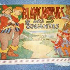 Libros de segunda mano: BLANCANIEVES Y LOS 5 GIGANTES. 1945. BLANCA NIEVES + 1 REGALO. Lote 27385455