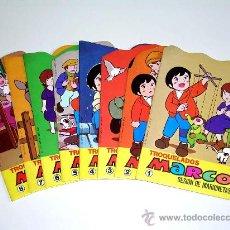Libros de segunda mano: COLECCIÓN TROQUELADOS MARCO, CUENTOS INFANTILES ILUSTRADOS, ED. BRUGUERA, ORIGINAL 1977. Lote 110147090