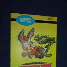 Libros de segunda mano - COLECCION ANIMALITOS REVOLTOSOS Nº 4 - OREJITAS, EL CONEJITO GLOTÓN - EDICIONES BOGA 1972 - 21014368