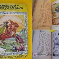 Libros de segunda mano: EL AGUA MILAGROSA Y LOS DOS APRENDICES. GRIMM HERMANOS. 1942. ED JUVENTUD. Lote 21040956