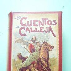 Libros de segunda mano: AUTIGUA COLECCION DE 10 MINI CUENTOS LO CUENTOS DE CALLEJA . Lote 26962996