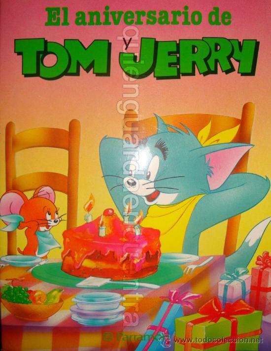 EL ANIVERSARIO DE TOM Y JERRY DE PARRAMON EDICIONES 1985 NUEVO (Libros de Segunda Mano - Literatura Infantil y Juvenil - Cuentos)