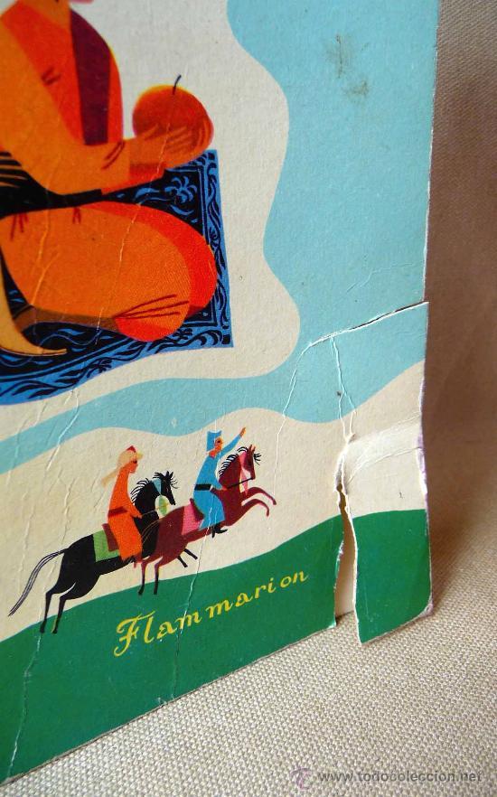 Libros de segunda mano: LIBRO DE CUENTOS PARA NIÑOS, LE TAPIS VOLANT, PERE CASTOR, COLECCION CIGALOU, FRANCIA, 1959 - Foto 4 - 21670152