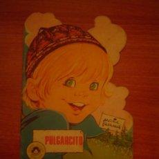 Libros de segunda mano: CUENTO TROQUELADO -PULGARCITO - POR MARIA PASCUAL ,EDICIONES TORAY. Lote 95220151