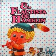 Libros de segunda mano: CUENTO COLECCIÓN DIN-DAN, EL FLAUTISTA DE HAMELIN Nº 4 DE BRUGUERA, DIBUJOS DE JAN. Lote 97880302
