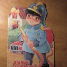 Libros de segunda mano: CUENTO TROQUELADO - JUANITO EL BOMBERO - FERMA 1969 - SE PUEDE PINTAR. Lote 23268146