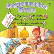 Libros de segunda mano - Caperucita Roja Saldaña Carlos Busquets cromos troquelados colección clásicos con pictogramas nuevo - 26048437