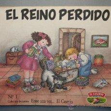 Libros de segunda mano: ERASE UNA VEZ...EL CASERÍO Nº 1 - EL REINO PERDIDO - ILUSTRACIONES DE VIOLETA DENOU. Lote 23593202