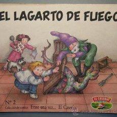 Libros de segunda mano: ERASE UNA VEZ...EL CASERÍO Nº 2 - EL LAGARTO DE FUEGO - ILUSTRACIONES DE VIOLETA DENOU. Lote 23593332
