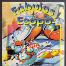 Libros de segunda mano: FÁBULAS DE ESOPO - EDICIONES SERVILIBRO, S.A. - CONTENIDO CORRECTO.. Lote 24489492