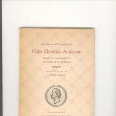 Libros de segunda mano: SEIS CUENTOS DEL ESCRITOR DANES HANS CHRISTIAN ANDERSEN AÑO 1955. Lote 25994272
