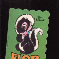Libros de segunda mano: FLOR , WALT DISNEY - CUENTO TROQUELADO - EDITA : BRUGUERA 1981. Lote 24639240
