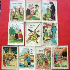 Libros de segunda mano: 10 CUENTITOS ANTIGUOS - ED. CUENTOS EL NIÑO. Lote 24653927