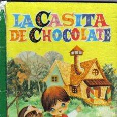 Libros de segunda mano: LA CASITA DE CHOCOLATE, 6ª EDICION 1962 EDITORIAL BRUGUERA PORTADA GALLARDA. Lote 26334005