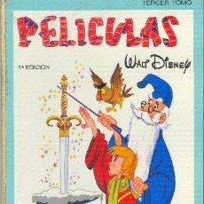 Libros de segunda mano: PELÍCULAS WALT DISNEY TOMO III JOVIAL E.R.S.A. 1967. Lote 25197435