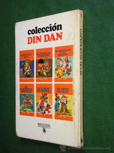 Libros de segunda mano: COLECCION DIN DAN N.1 - CAPERUCITA ROJA - JAN - Foto 4 - 26928104
