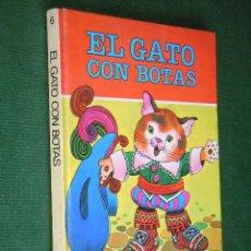 Libros de segunda mano: COLECCION DIN DAN N.6 - EL GATO CON BOTAS - JAN. Lote 27182784
