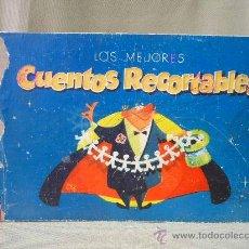 Libros de segunda mano: CUENTO INFANTIL, LOS MEJORES CUENTOS RECORTABLES, J. CANELLAS, 4 CUENTOS. Lote 25409918